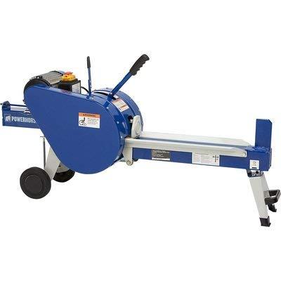 Powerhorse Horizontal Double Flywheel Kinetic Electric Log Splitter - 7-Ton, 15 Amp, 120V Motor