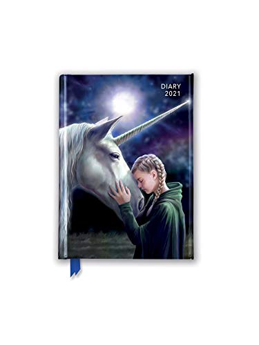 Anne Stokes - Once Upon a Time - Es war einmal vor langer Zeit 2021: Original Flame Tree Publishing-Pocket Diary. Taschenkalender