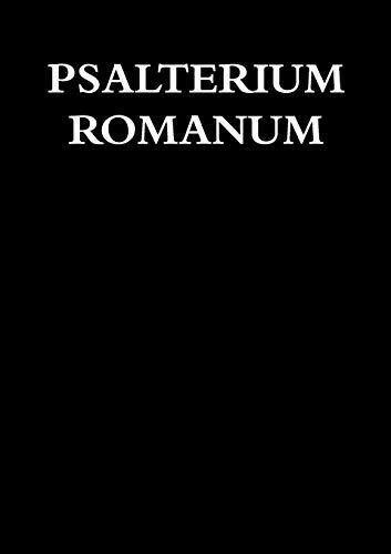 PSALTERIUM ROMANUM