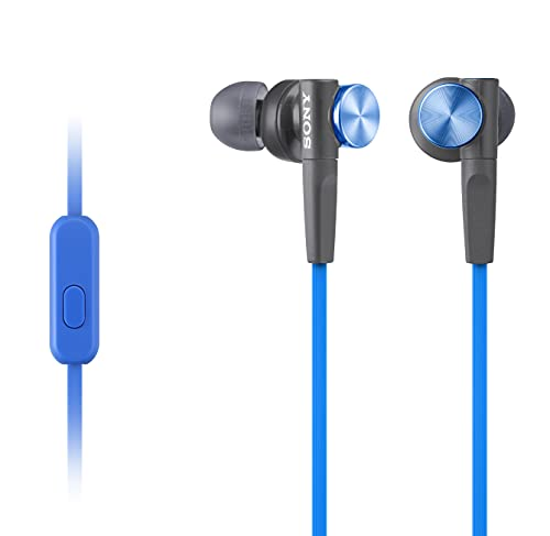 Sony MDRXB50AP Extra Bass Earbud Headphones/Headset with Mic for Phone...