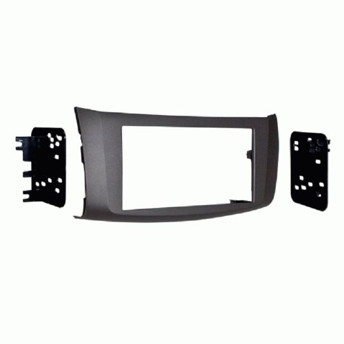 Metra 95-7618G Double DIN Installation Kit for Nissan Sentra 2013-Up (Gray)