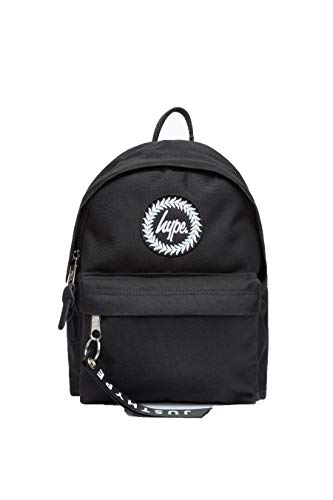 HYPE Black Plain Mini Backpack