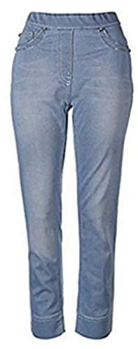 Mocca by J.L. Hose Zauberhose® Jeans Damen Hellblau Gr. 34