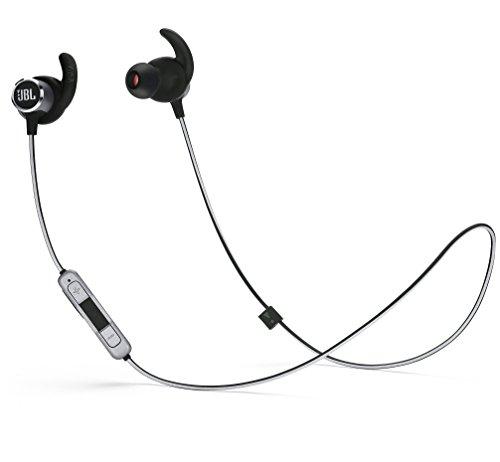 JBL REFLECT MINI 2 BT Bluetoothイヤホン IPX5 防滴防汗仕様/通話可能 ブラック JBLREFMINI2BLK 【国内正規品/メーカー1年保証付き】