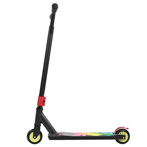 Shipenophy Durabilidad Aleación de aluminio Scooter Adultos Scooter Stunt Scooter Apariencia elegante Portabilidad Profesional para Transferencia de Trabajo