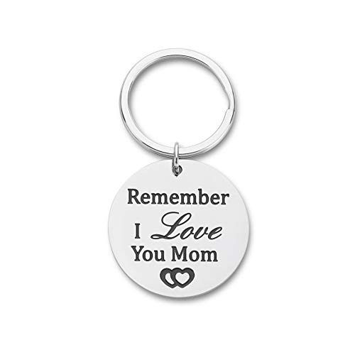 Mothers Day Gift Keychain for Mom Mother in Law Stepmother Grandmother from Daughter Son Kids Child...