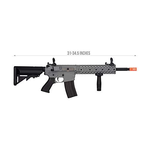 Lancer Tactical Gen 2 EVO AEG LT-12 AEG Aerosoft Gun, Gray with High FPS