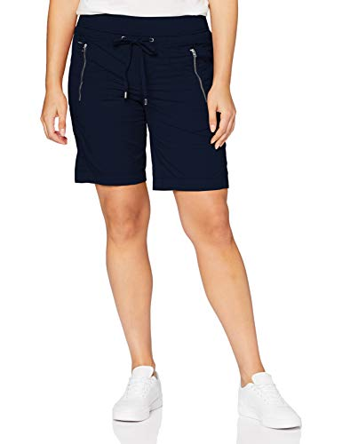 Street One Damen 373281 Bonny Bermuda Loose Fit Hose, deep Blue, 38