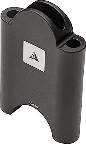 Profile Designs Aerobar Bracket Riser Kit Black, Black, 70mm