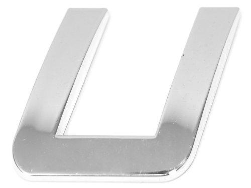 Eufab 30331 3d-letter U Car-logo