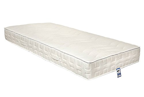 Yanis Latex Plus 100% Natural Dunlop Latex Mattress - Euro Single 90x200cm - Firm Comfort