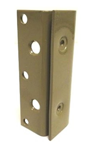 Colibyou Bed Frame Bed Post Double Hook Slot Bracket - Set of 4