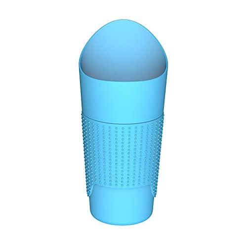Ablily - Papelera de coche creativa a la moda, para tazas, basura, agua en el coche, cubo de almacenamiento, ranura de puerta auxiliar suministros diversos.