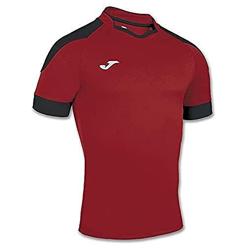 Joma Camiseta MYSKIN Rojo M/C Tricot Homme, Rouge-601, XXL-3XL