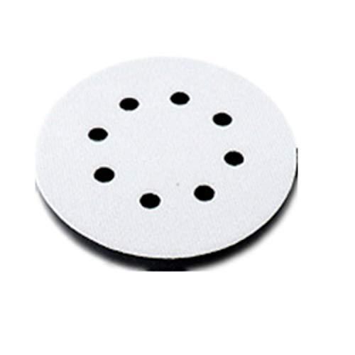 YouU 100 Stück Schleifscheiben Klett-Schleifscheiben 5 Zoll 8 Löcher Klett Schleifscheibe 1000/1200/ 1500/2000/ 3000 Kornsortiment für Random Schwingschleifer (Interface Pad / 1 Stck)