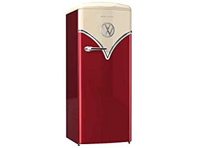 Gorenje obrb153r Freestanding 254L A + + + bordeaux–combi-fridge (Freestanding, Beige, Bordeaux, Right, Rotary, Plastic, 254(L)