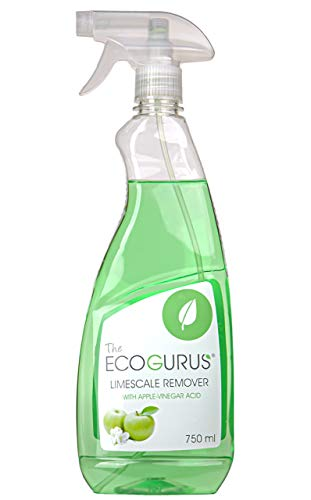 The EcoGurus All Natural Limescale Remover!! - Environmentally & Eco Friendly Apple Vinegar Acid - De-Scaler, Clean Windows, UPVC & More!!