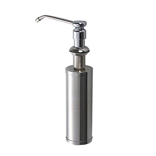 NYDZ Zeep Dispensers Hand zeepdispenser door de gootsteen volledige koperen kop roestvrij stalen flessen wasmiddel flessen keuken groenten bekken