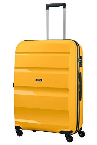 American Tourister Bon Air - Spinner Large Equipaje de Mano, 75 cm, 91 Liters, Amarillo (Light Yellow)