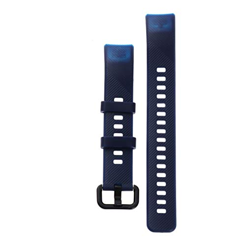 Silikon-Uhr-Band-Ersatz-Armband-Riemen-HW-Band 5 4 Bunte weiche Sportarmbänder (Band Color : Navy)