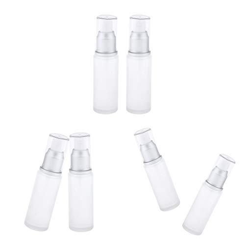 Bonarty 6 pcs Vaporisateur Vide Parfum 30 Ml, Flacons Vide, Contenant de Lotion pour Cosmétique, Savons, Shampooings, Lotions,