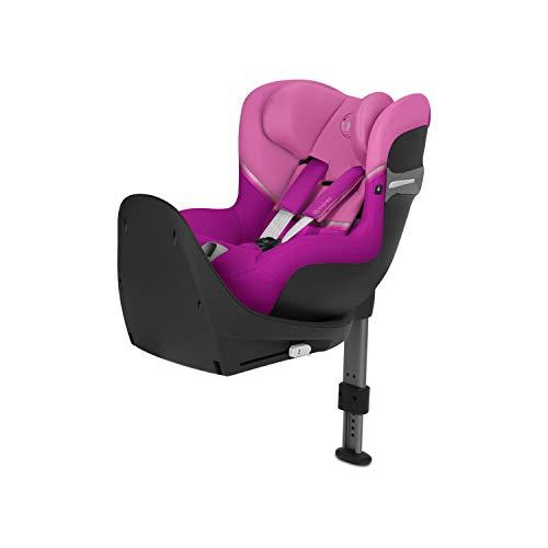 CYBEX Gold Sirona S i-Size, Système de Rotation à 360°, Dos face à la route, Pour l'enfant de la naissance jusqu'à 4 ans env., (jusqu'à 105 cm max.), Magnolia Pink