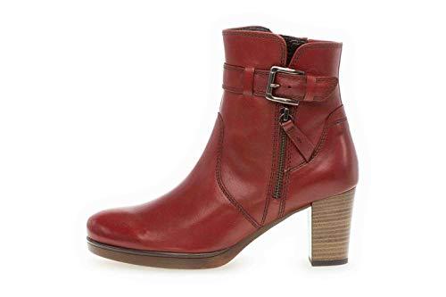Gabor Comfort Sport Stiefeletten in Übergrößen Rot 32.863.68 große Damenschuhe, Größe:42
