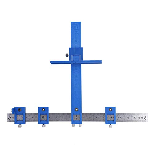 Cabinet Jig, Cabinet Handle Jig, Alloy Drill Guide Sleeve Punch Locator Drill Guide Sleeve Cabinet Hardware Jig Drawer Pull Wood Dowelling Tool