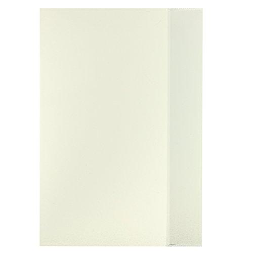 10 Herlitz Heftumschläge/Hefthüllen DIN A4 / Farbe: transparent klar