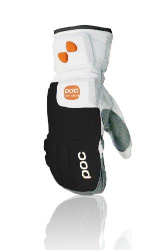 POC Unisex Handschuh Palm Racing, White/Black, XS