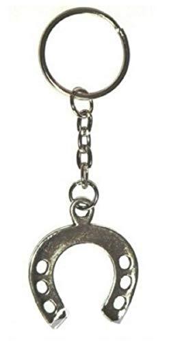 LLAVERO de herradura - amuleto de la suerte