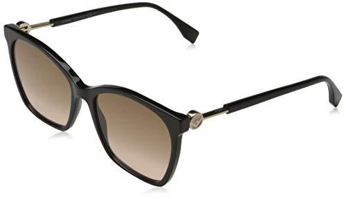 FENDI Damen Ff 0237/s Sonnenbrille, 3H2/JP Black PINK, 49