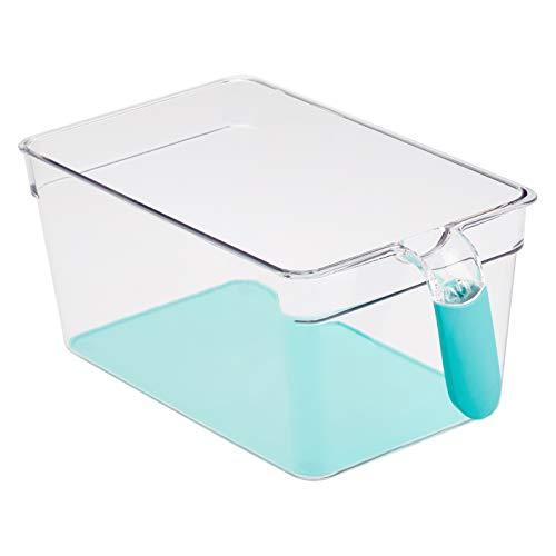 AmazonBasics – Kühlschrank-Behälter mit Griff, groß, 2 Stück