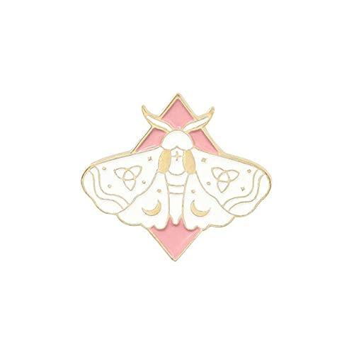 ROTOOY Insignias de Mariposa, broches esmaltados, alfileres de Solapa para Mochila, Pin Decorativo para Mujer, Insignias de Anime, Mini Broche Bonito, joyería en la Ropa-3
