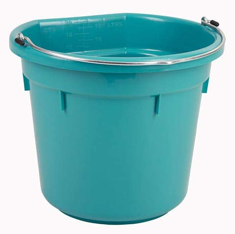 Cubo para Agua o Comida Flatback Aprox. 20 l
