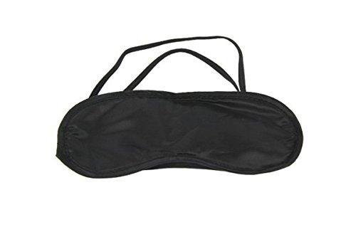 Haodou Mittagspause Schutzbrillen Schlafmaske Atmungsaktiv Augenmaske Reisen Schlaf-Beihilfen Komfortablen Schlaf Brille Mit Elastisches Gummiband-Schwarze