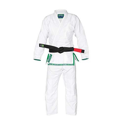 Role Bonito Ultra Ligero Kimono de Jiu-Jitsu Brasileño (BJJ) Blanco - Talla A4