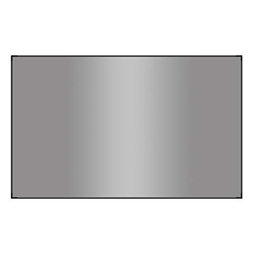 Projektionswand 72 Zoll, 16: 9 HD Faltbare Anti-Falten-Anti-Licht-Vorhänge, Tragbare Projektionsfilm-Leinwand für Heimkino Indoor Outdoor Vorne Und Hinten