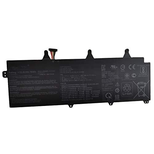 7xinbox 15.4V 4935mAh 0B200-03140100 C41N1802 Replacement Laptop Battery for ASUS ROG Zephyrus S GX701G GX701GXR GX735GV GX735GVR GX735GW GX735GX