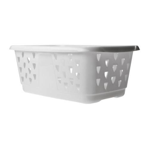 Ikea BLASKA–Clothes-Basket, weiß–36l