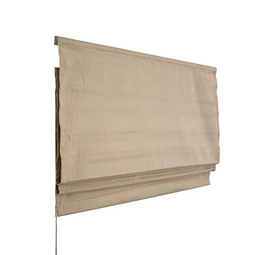 Victoria M. Estor Plegable, Cortina Plegable paqueto 160 x 175 cm, Color: Beige