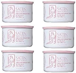 Satin Smooth Deluxe Cream Wax 6 Pack