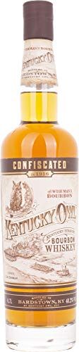 Kentucky Owl Confiscated Bourbon Whiskey - 700 ml