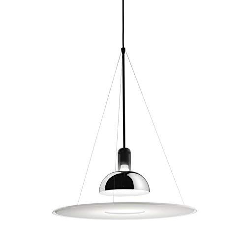 Lámpara colgante E27 105W, de la colección Frisbi, 60 x 60 x 343 centímetros, color cromo (referencia: F2500000)
