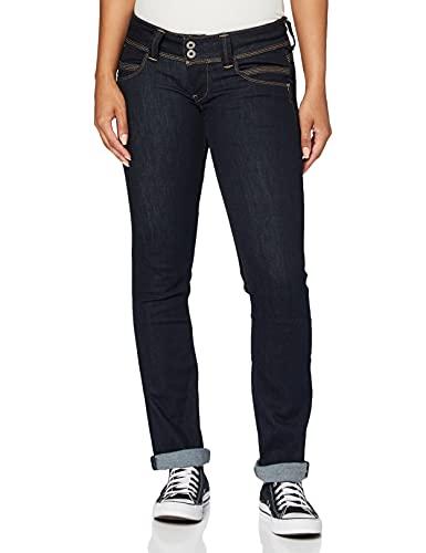Pepe Jeans Damen Venus Jeans, 10oz Rinse Plus, 29W...