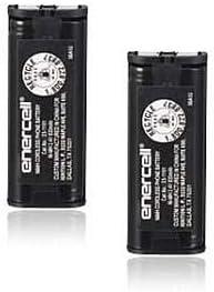 Enercell 2.4V / 830mAh Ni-MH Cordless Telephone Battery for Panasonic HHR-P105 - Bulk Lot of 2 Batteries