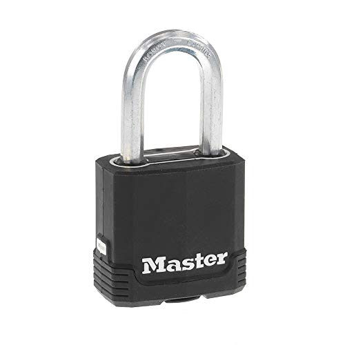 Master Lock M115XDLF Magnum Heavy Duty Outdoor Padlock with Key, 1 Pack