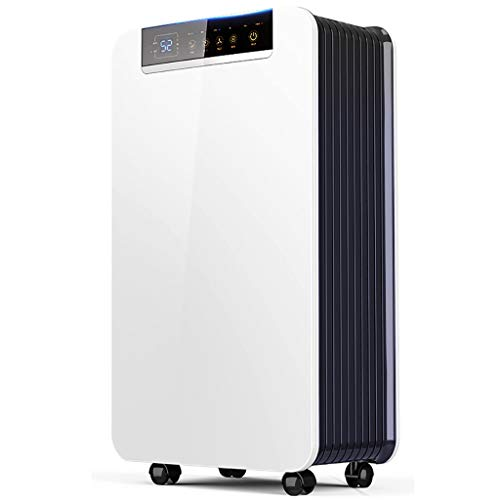 Dehumidifier Household Small Electric, 30L Large dehumidification, Intelligent Timing, Auxiliary Drying Clothes, Bedroom/Basement, etc.