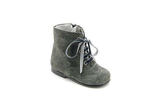 León Shoes BOTA Mädchen Stiefel grau 25, 27, 29 (27)