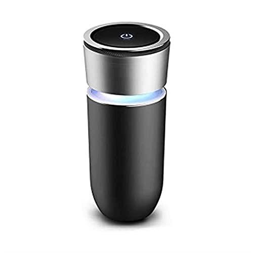 WGLL Filtro portátil del tamaño de Viaje del purificador de Aire del Coche, Ideal para Conductores, Salas, olores, Viajes, filtros alérgenos